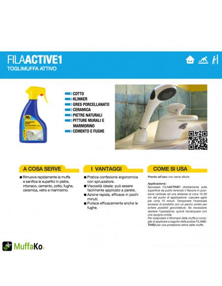 Fila Active 1 Toglimuffa attivo 500 ml