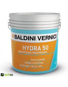 Pittura HYDRA 50 Baldini Idropittura Traspirante