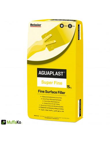 Stucco aguaplast super fine in polvere bianco 15 kg