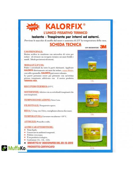 Kalorfix Tecnostuk fissativo isolante termico